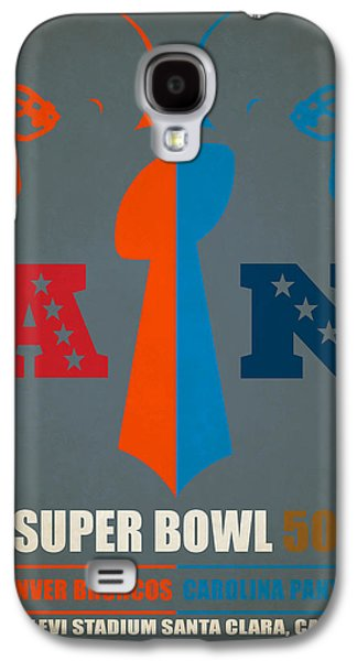 My Super Bowl 50 Broncos Panthers Galaxy S4 Case