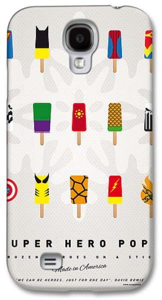 My Superhero Ice Pop - Univers Galaxy S4 Case by Chungkong Art
