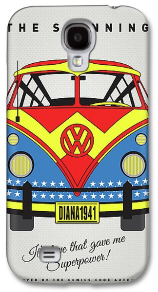 My Superhero-vw-t1-supermanmy Superhero-vw-t1-wonder Woman Galaxy S4 Case