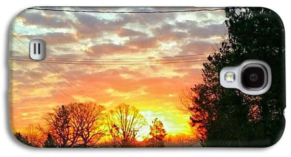 Galaxy S4 Case - My View Of The Sunrise This by Robin Mead