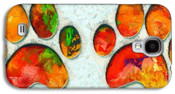 My Cat Paw Galaxy S4 Case by Stefano Senise