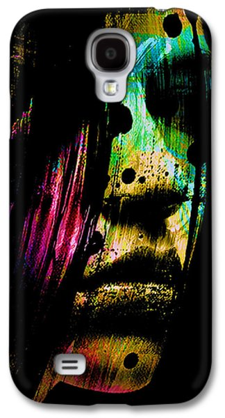 Mysterious Girl Galaxy S4 Case by Marian Voicu