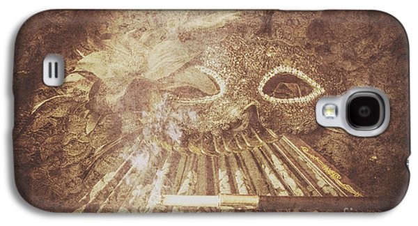 Mysterious Vintage Masquerade Galaxy S4 Case by Jorgo Photography - Wall Art Gallery