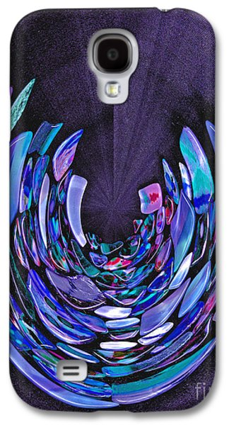 Galaxy S4 Case featuring the photograph Mystery In Blue And Purple by Nareeta Martin