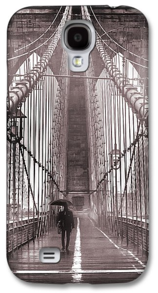 Bridges Galaxy S4 Case - Mystery Man Of Brooklyn by Az Jackson