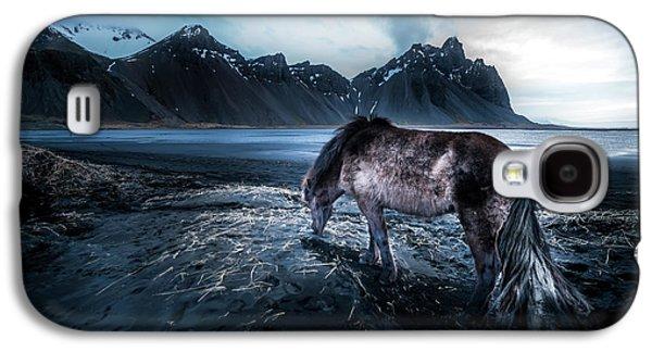Mystic Icelandic Horse Galaxy S4 Case