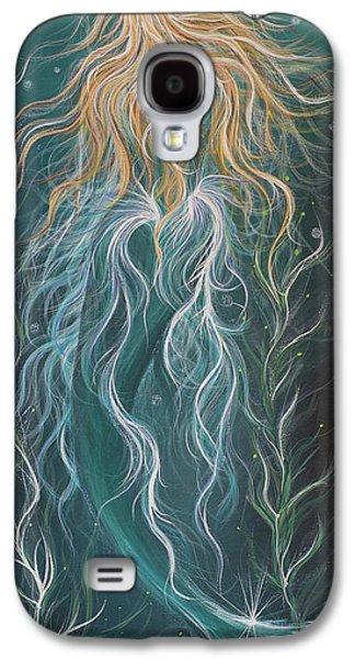 Angel Mermaids Ocean Galaxy S4 Case - Mystic Mermaid by Angel Fritz