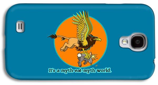 Mythhunter Galaxy S4 Case by J L Meadows