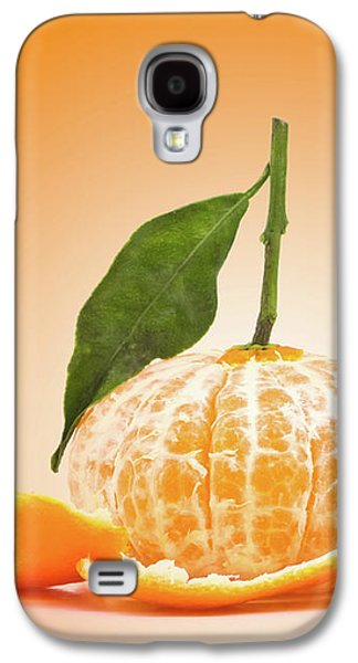 Naked Orange Galaxy S4 Case by Wim Lanclus