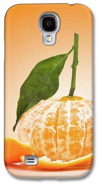 Naked Orange Galaxy S4 Case