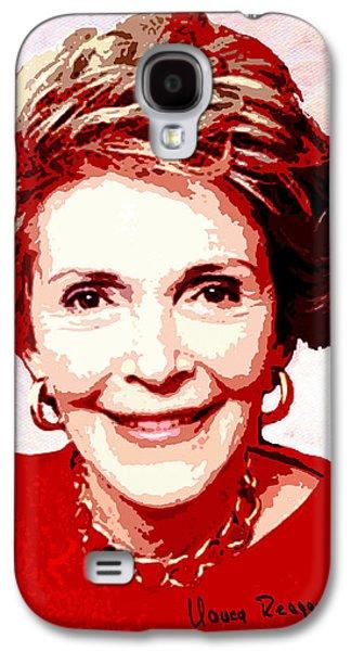 Nancy Reagan Portrait Galaxy S4 Case
