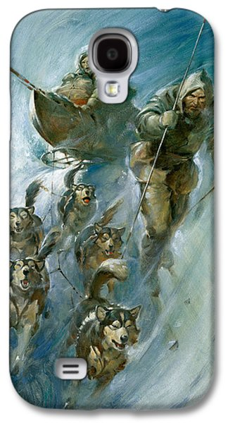 Nansen Conqueror Of The Arctic Ice Galaxy S4 Case by James Edwin McConnell