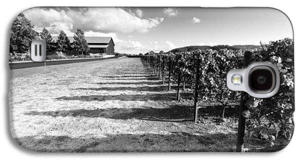 Napa Winery Rows Galaxy S4 Case by Paul Scolieri