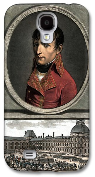 Emperor Galaxy S4 Cases - Napoleon Bonaparte And Troop Review Galaxy S4 Case by War Is Hell Store