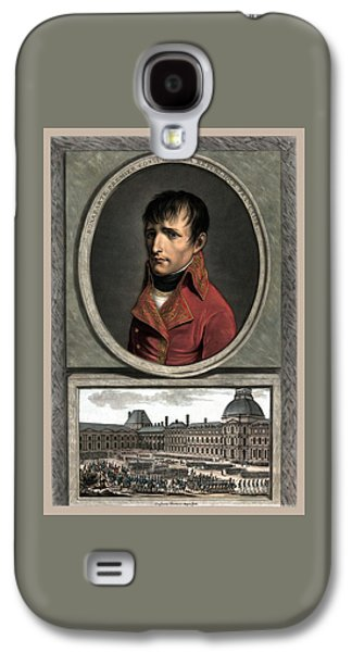 Revolution Mixed Media Galaxy S4 Cases - Napoleon Bonaparte And Troop Review Galaxy S4 Case by War Is Hell Store
