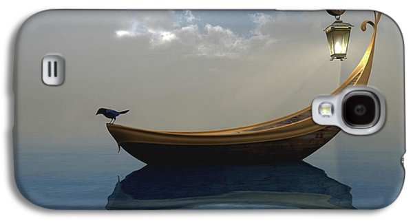 Boat Galaxy S4 Case - Narcissism by Cynthia Decker