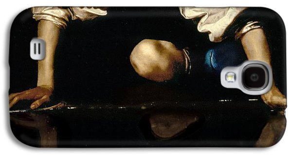Narcissus Galaxy S4 Case by Caravaggio