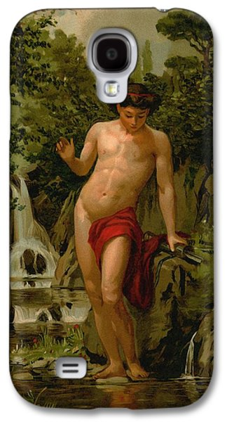 Narcissus In Love With His Own Reflection Galaxy S4 Case by Dionisio Baixeras-Verdaguer