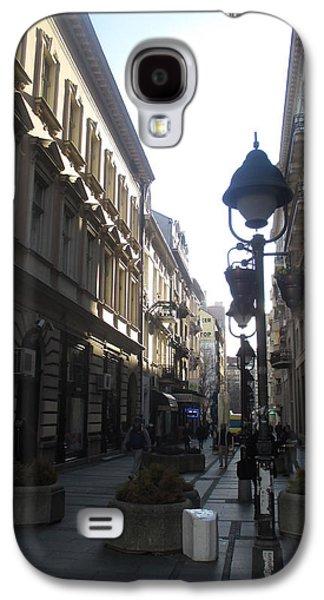 Sunny Galaxy S4 Case - Narrow Street by Anamarija Marinovic