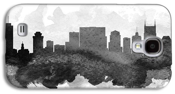 Nashville Cityscape 11 Galaxy S4 Case by Aged Pixel
