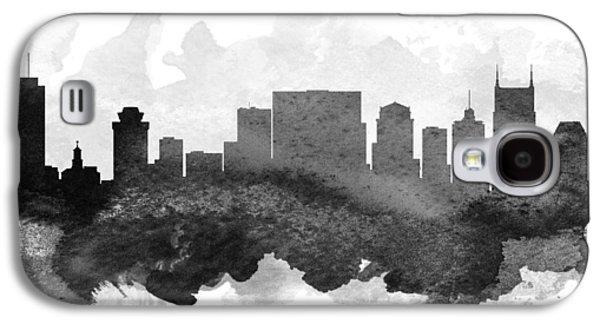 Nashville Skyline Galaxy S4 Case - Nashville Cityscape 11 by Aged Pixel