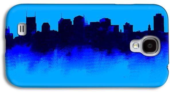 Nashville  Skyline Blue  Galaxy S4 Case