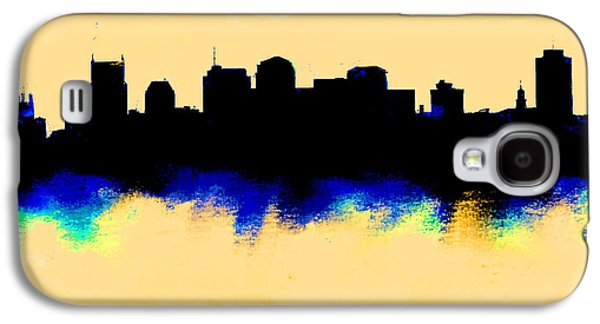 Nashville  Skyline  Galaxy S4 Case by Enki Art