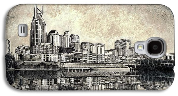 Nashville Skyline II Galaxy S4 Case by Janet King