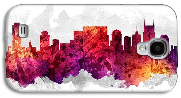 Nashville Tennessee Cityscape 14 Galaxy S4 Case