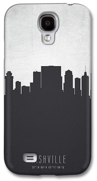 Nashville Tennessee Cityscape 19 Galaxy S4 Case by Aged Pixel