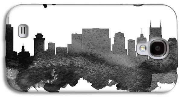 Nashville Tennessee Skyline 18 Galaxy S4 Case by Aged Pixel