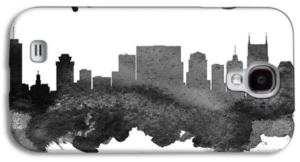 Nashville Skyline Galaxy S4 Case - Nashville Tennessee Skyline 18 by Aged Pixel