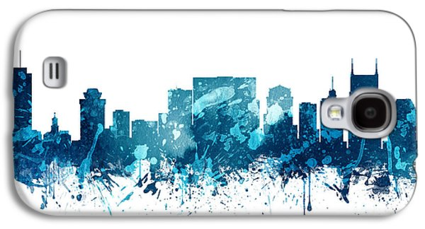 Nashville Tennessee Skyline 19 Galaxy S4 Case by Aged Pixel