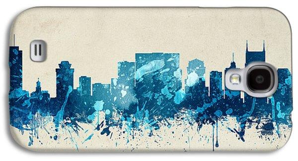 Nashville Tennessee Skyline 20 Galaxy S4 Case by Aged Pixel