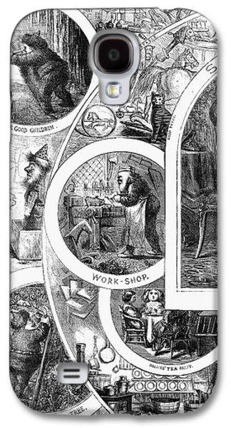 Nast: Santa Claus, 1866 Galaxy S4 Case