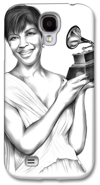 Rhythm And Blues Galaxy S4 Case - Natalie Cole by Greg Joens