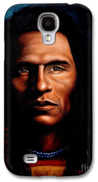 Native American Indian Soaring Eagle Galaxy S4 Case