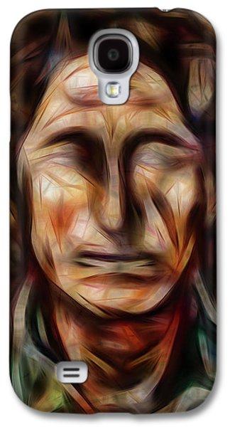 Native Nightwalker Galaxy S4 Case by Brian King