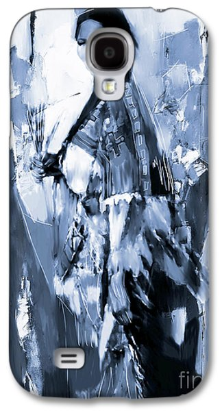 Native American Woman 09 Galaxy S4 Case
