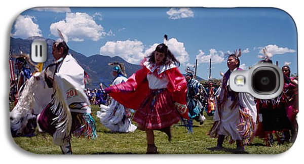 Native Americans Dancing, Taos, New Galaxy S4 Case