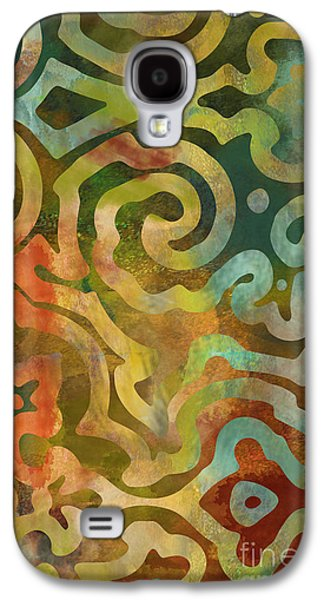 Native Elements Multicolor Galaxy S4 Case by Mindy Sommers