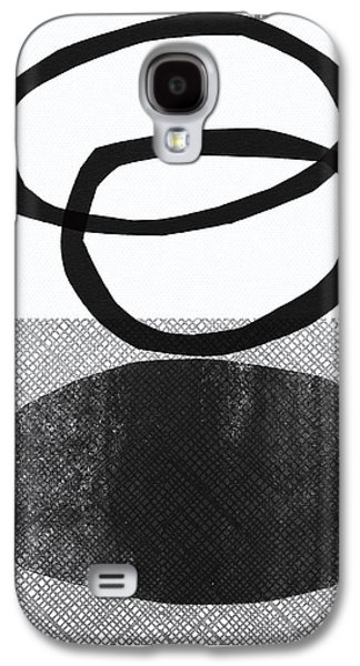 Natural Balance- Abstract Art Galaxy S4 Case by Linda Woods
