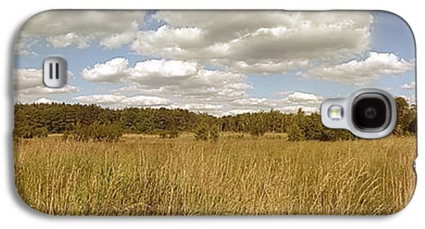 Natural Meadow Landscape Panorama. Galaxy S4 Case