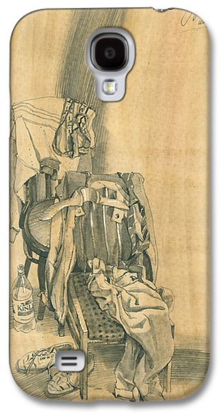 Naturmort With Clothes On Chair 1 Galaxy S4 Case
