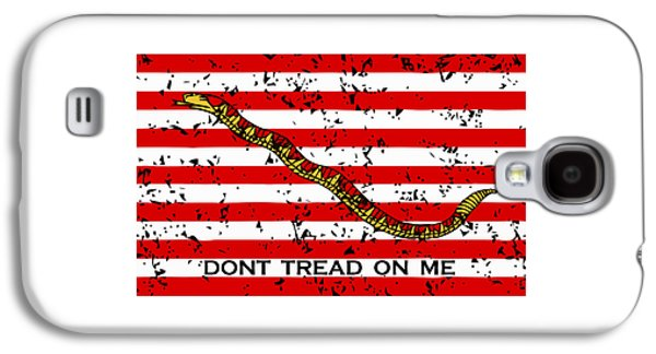 Navy Jack Flag - Don't Tread On Me Galaxy S4 Case