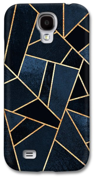 Navy Stone Galaxy S4 Case