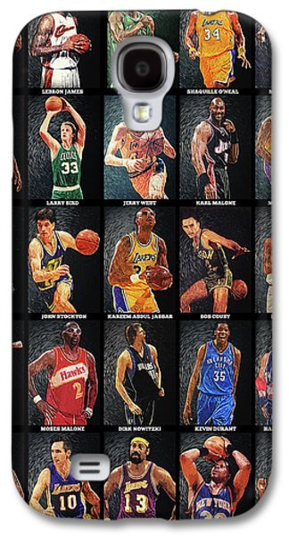 Nba Legends Galaxy S4 Case