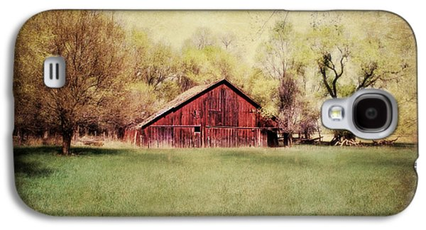 Barn Yard Galaxy S4 Cases - Nebraska Barn Galaxy S4 Case by Julie Hamilton