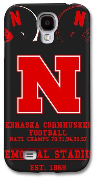 Nebraska Cornhuskers 2 Galaxy S4 Case by Joe Hamilton