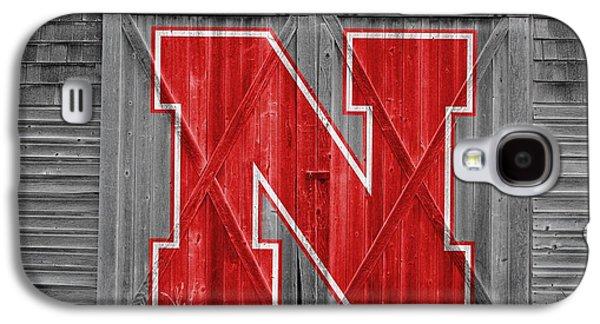 Nebraska Galaxy S4 Case - Nebraska Cornhuskers Barn Doors by Joe Hamilton